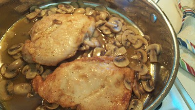 Why pay restaurant prices?  Easy Chicken Marsala