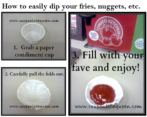 How to Dip More Fries