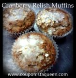 #Recipe | Cranberry Relish Muffins