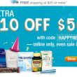 Save $10 off $50 at Walgreens + FREE Triple Action Joint Formula ($30 value)
