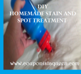 DIY Homemade Stain and Spot Treatment