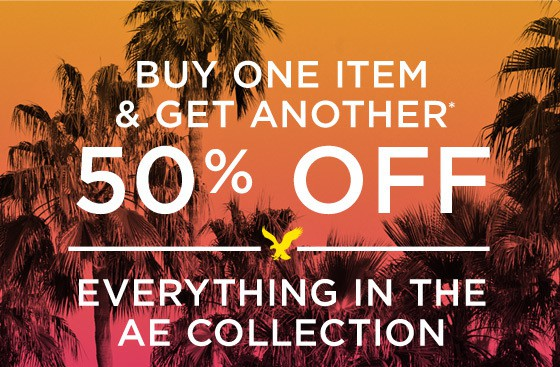 Buy One Get One 50 Off American Eagle