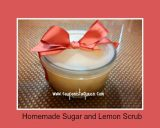 DIY Homemade Sugar and Lemon Scrub, Frugal $2 Dollar Tree Recipe!