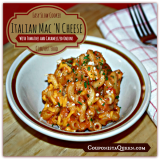 Easy Slow Cooker Recipe – Italian Mac 'N Cheese with Caramelized Onions and Tomatoes