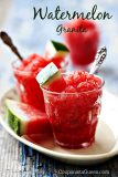 Refreshing Summer #Recipe – Watermelon Granita – Plus #Win a ProFreshionals Fruit Bowl