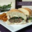Spinach, Mozzarella and Mushroom Stuffed Burgers