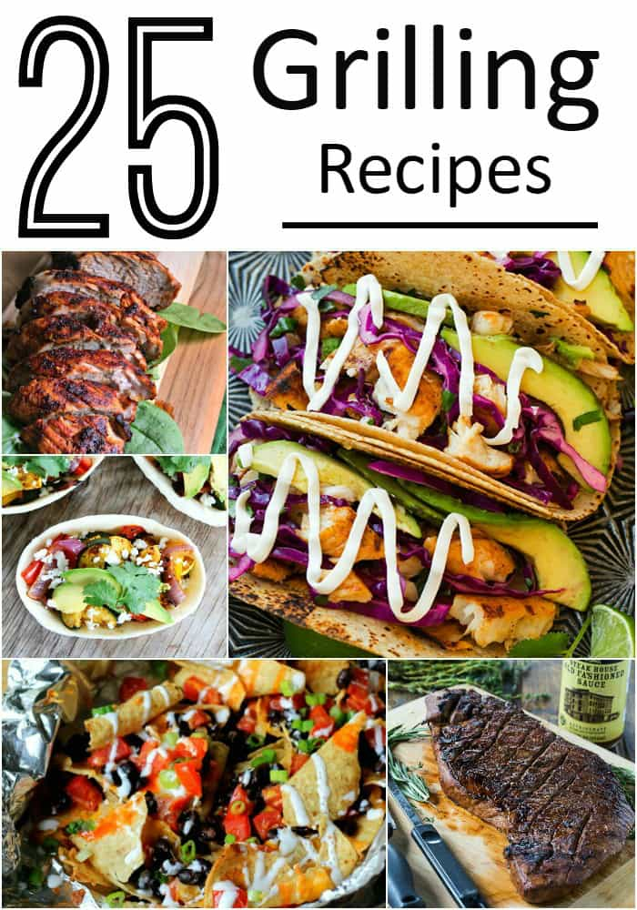 25 Summer Grilling Recipes