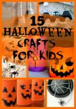 15 Halloween Crafts for Kids
