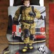 HOT Deal!  Save OVER 35% on Dream Big Firefighter Comforter Set!