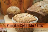 Make Fresh Milled Flour!  Pumpkin Spice Muffins and Bread Recipe #Mockmill #Baking #Fresh