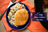 Easy Slow Cooker Pot Pie