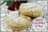Eggnog Gooey Butter Cookies