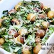 Mini Roasted Potatoes with Kale & Provolone