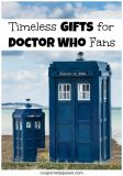 Timeless Gifts for Doctor Who Fans