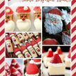 Santa Inspired Holiday Treats