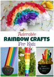 Adorable Rainbow Crafts for Kids