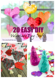 20 Easy DIY Valentine's Day Crafts