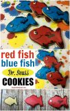 Red Fish Blue Fish Dr. Seuss Cookies