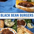 Meatless Black Bean Burgers