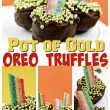 Lucky Pot of Gold Oreo Truffles