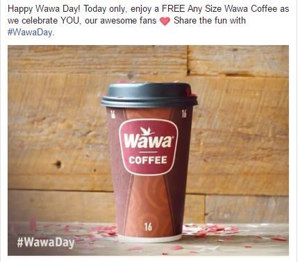 image about Wawa Coupons Printable identified as No cost! Any Sizing Espresso at Wawa! Currently Simply! Couponista